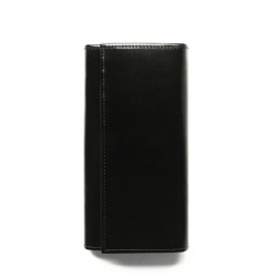ホワイトハウスコックス | S1160 LONG WALLET / BRIDLE 3TONE(BLACK/ECRU/KELLY)