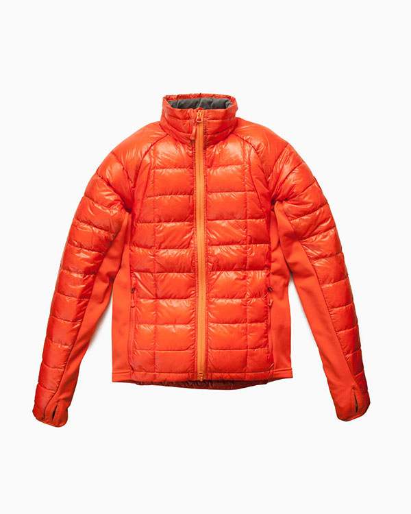 カナダグース | HYBRIDGE LITE JACKET (AMBER/SUNSET ORANGE)