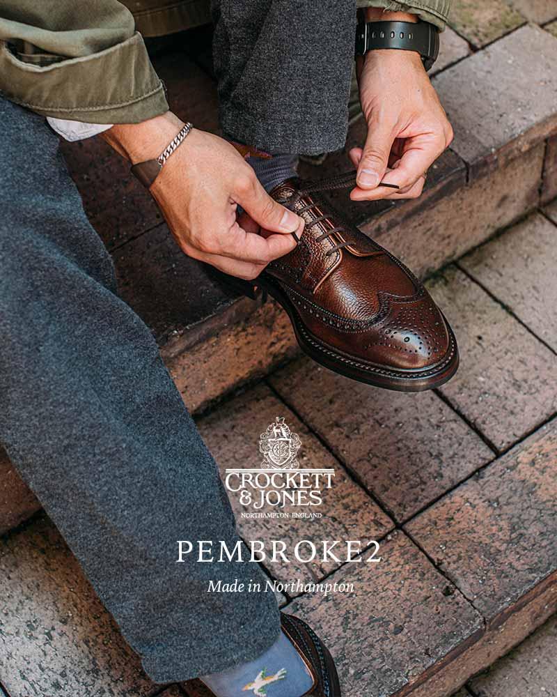 英国カントリーの雰囲気が漂うフルブローグモデル「PEMBROKE2」
