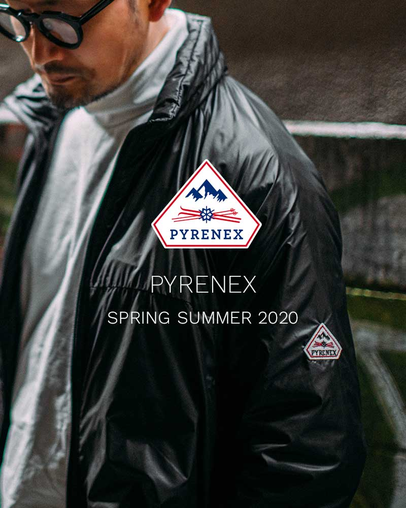 PYRENEX 2020 MEN'S SPRING/SUMMER