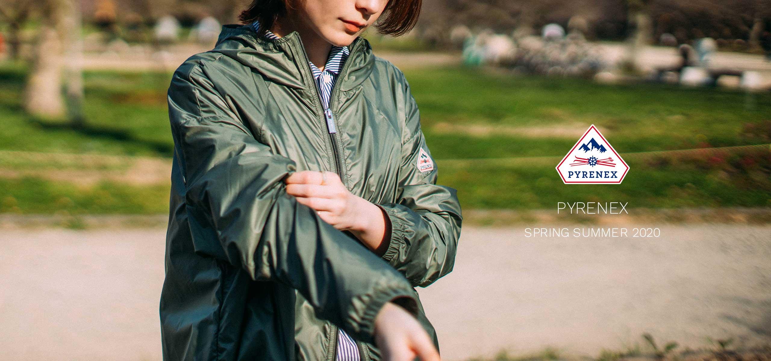 PYRENEX 2020 WOMEN'S SPRING/SUMMER