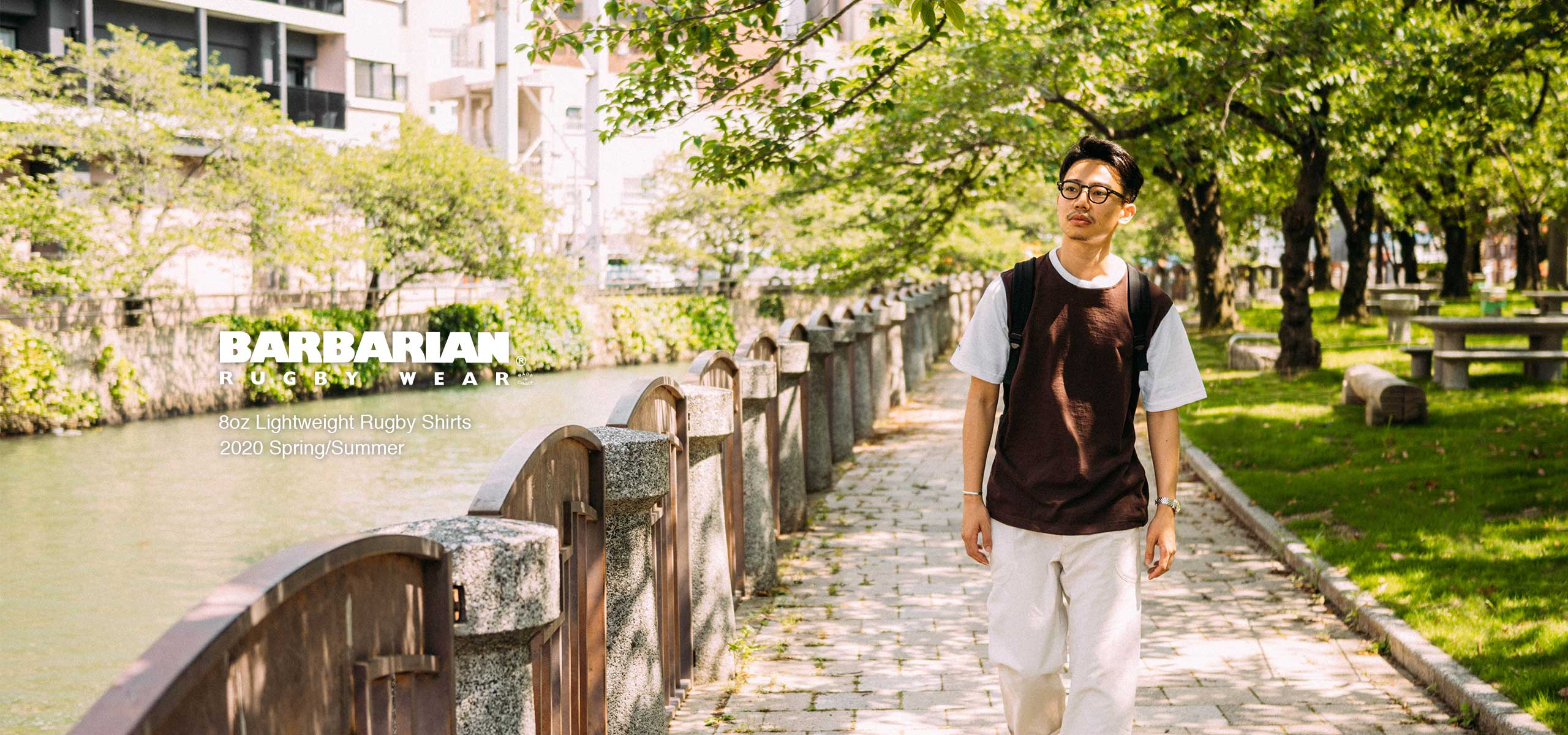 Brown is early summer -BARBARIAN 2020 S/S Vol.4 -
