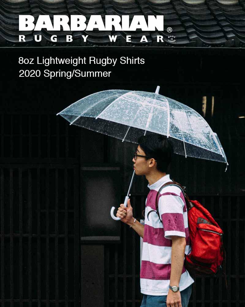 雨の日のパステルカラーシャツ -BARBARIAN 2020 S/S Vol.5 -
