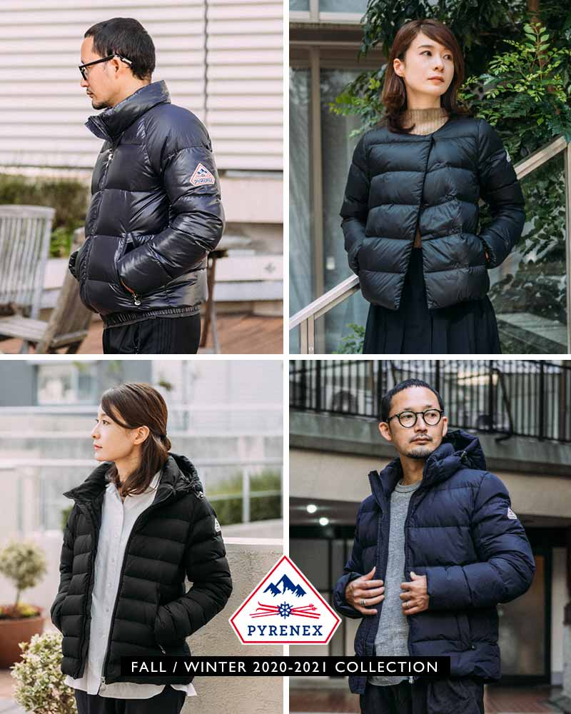 PYRENEX F/W 2020-2021 COLLECTION Vol.2