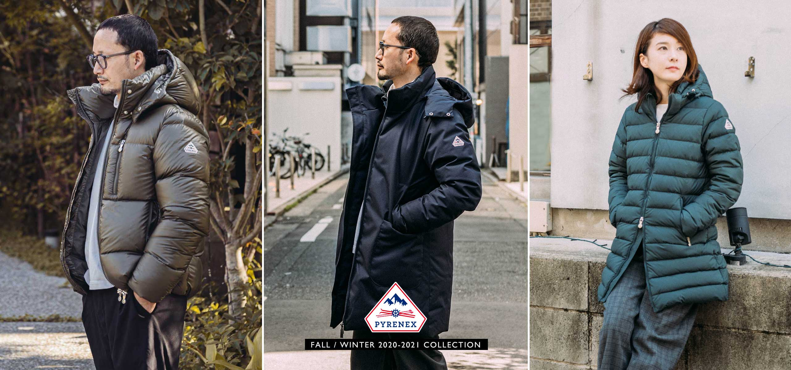 PYRENEX F/W 2020-2021 COLLECTION Vol.3
