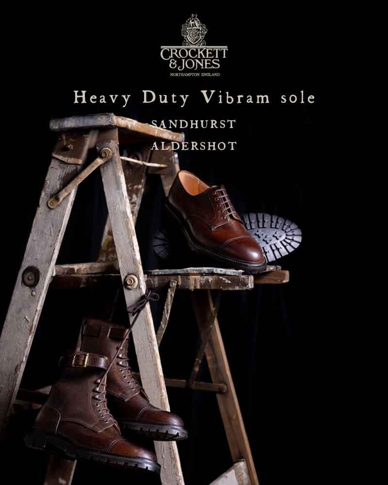 Heavy Duty Vibram sole