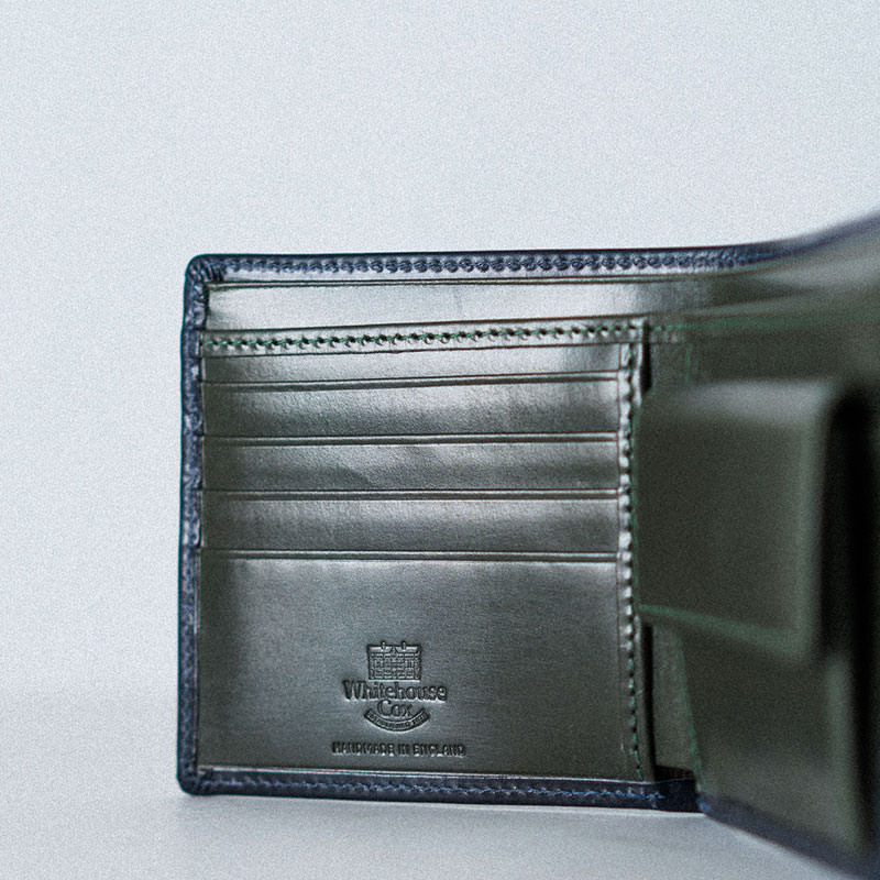 S7532 COIN WALLET / BRIDLE 2TONE