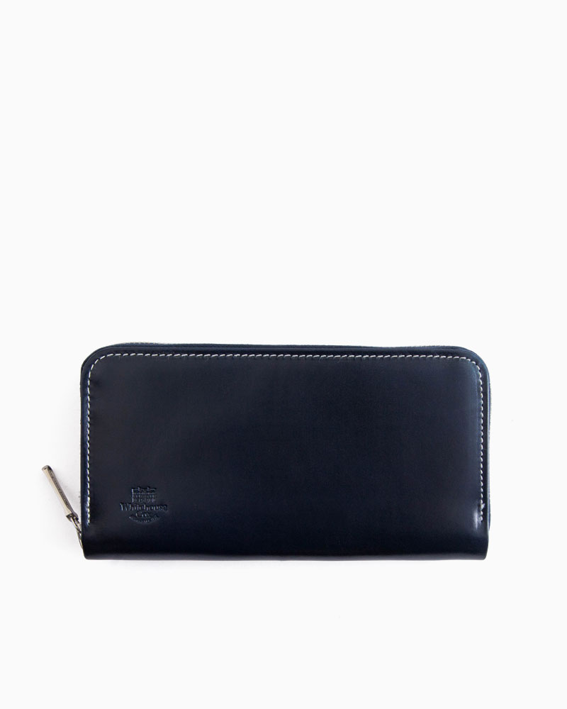 new concept 53e73 1d2a1 Whitehouse Cox ホワイトハウスコックス S2622 LONG ZIP WALLET ...