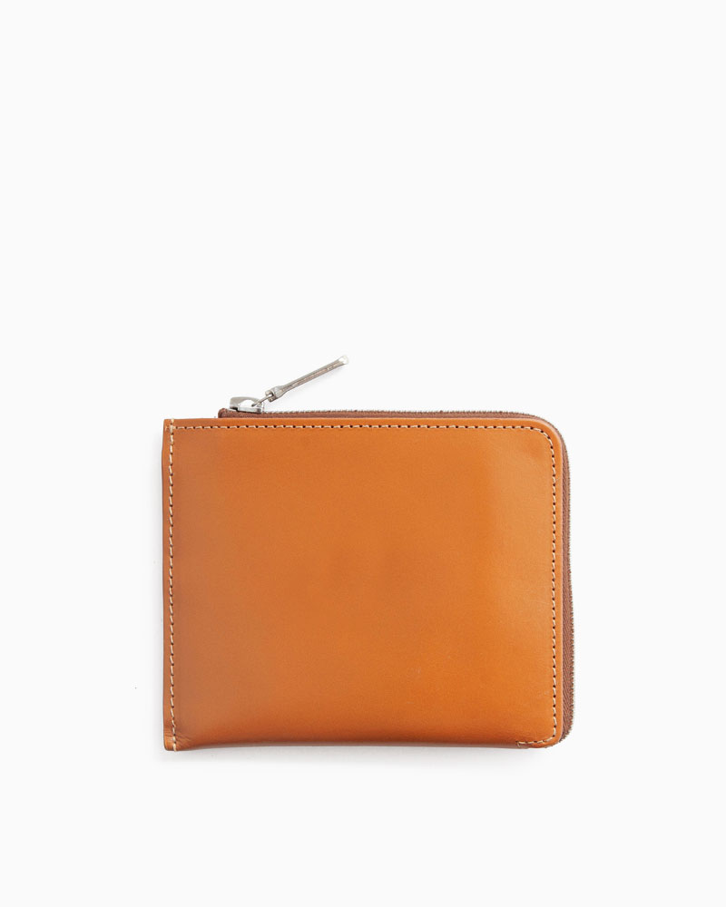 S3068 SLIM ZIP WALLET / BRIDLE